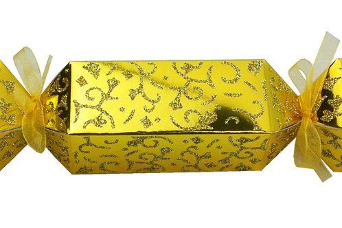 """Faltkarton """"Bonbon gold"""", 10er Pack"""