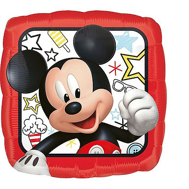 Folienballon Mickey Mouse, eckig