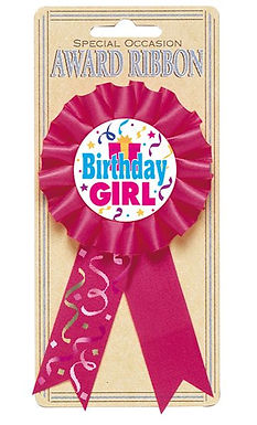 Siegerschleife Birthday Girl
