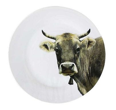 Porzellanteller Kuh,  Ø 27 cm