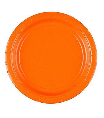Teller, orange