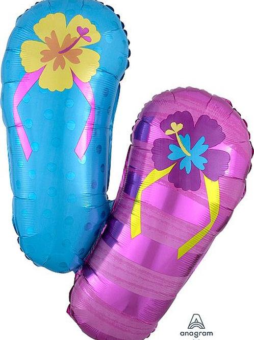 XXL-Folienballon Flip Flops