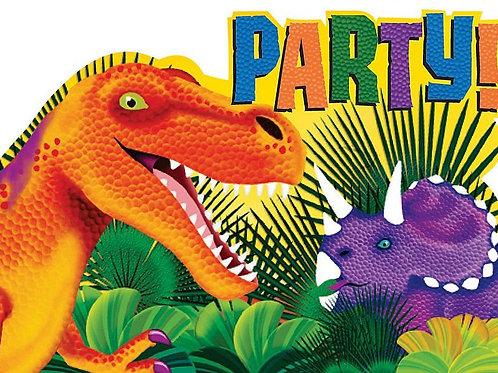 Einladungskarten Dinosaurier