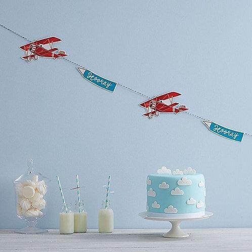 Girlande Flugzeuge