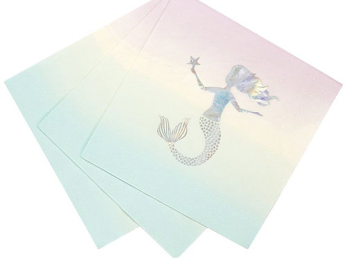 "Servietten ""Elegante Meerjungfrau"""