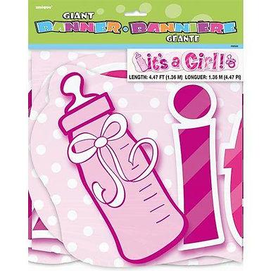 "Girlande ""It's a Girl"""