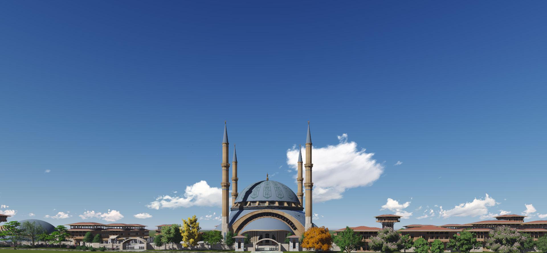 """""""Tasarlanan Ümraniye Camii"""""""