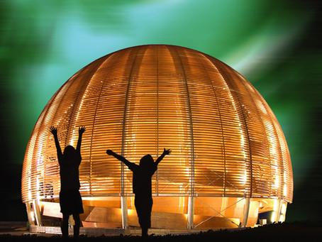 CERN'in en tanınmış sembollerinden biri olan Bilim ve Yenilik Kubbesi  tamamen restore edildi.
