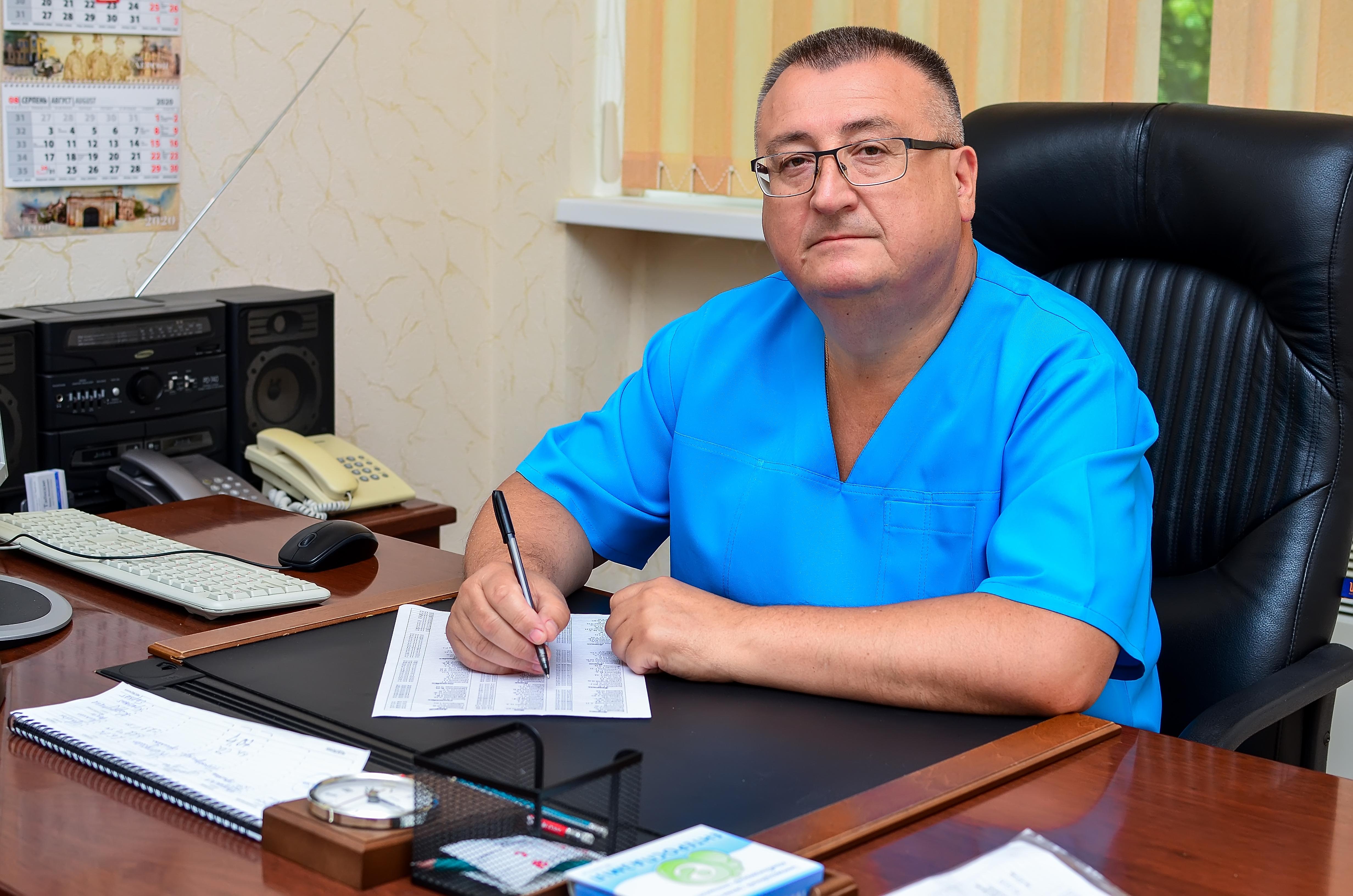 Гастроэнтеролог в Херсоне Бородай Сергей
