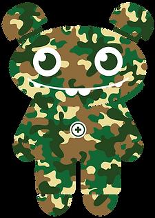 volotot camo logo camouflage t-shirt logo
