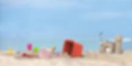 volotot beach scene sandcastle play with buckets
