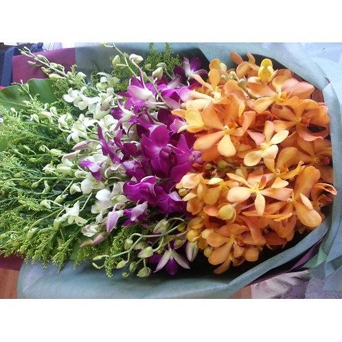 Orchid Presentation Bouquet