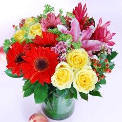 Abundance Glass Bouquet