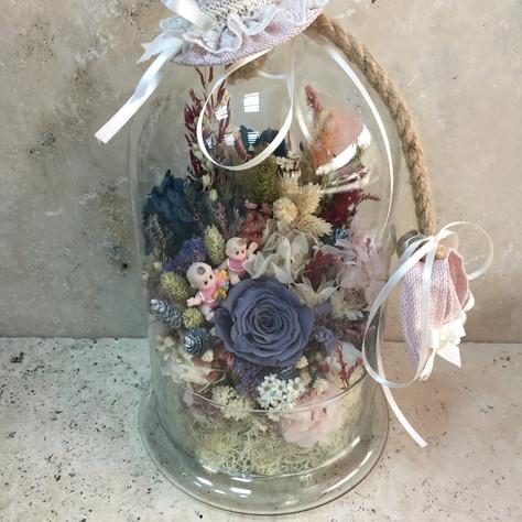 bebek fanus çiçek