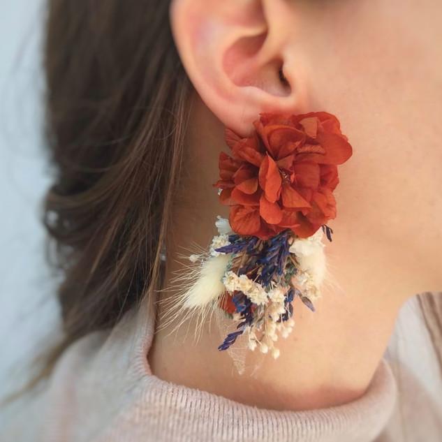 tarçın çiçek küpe2