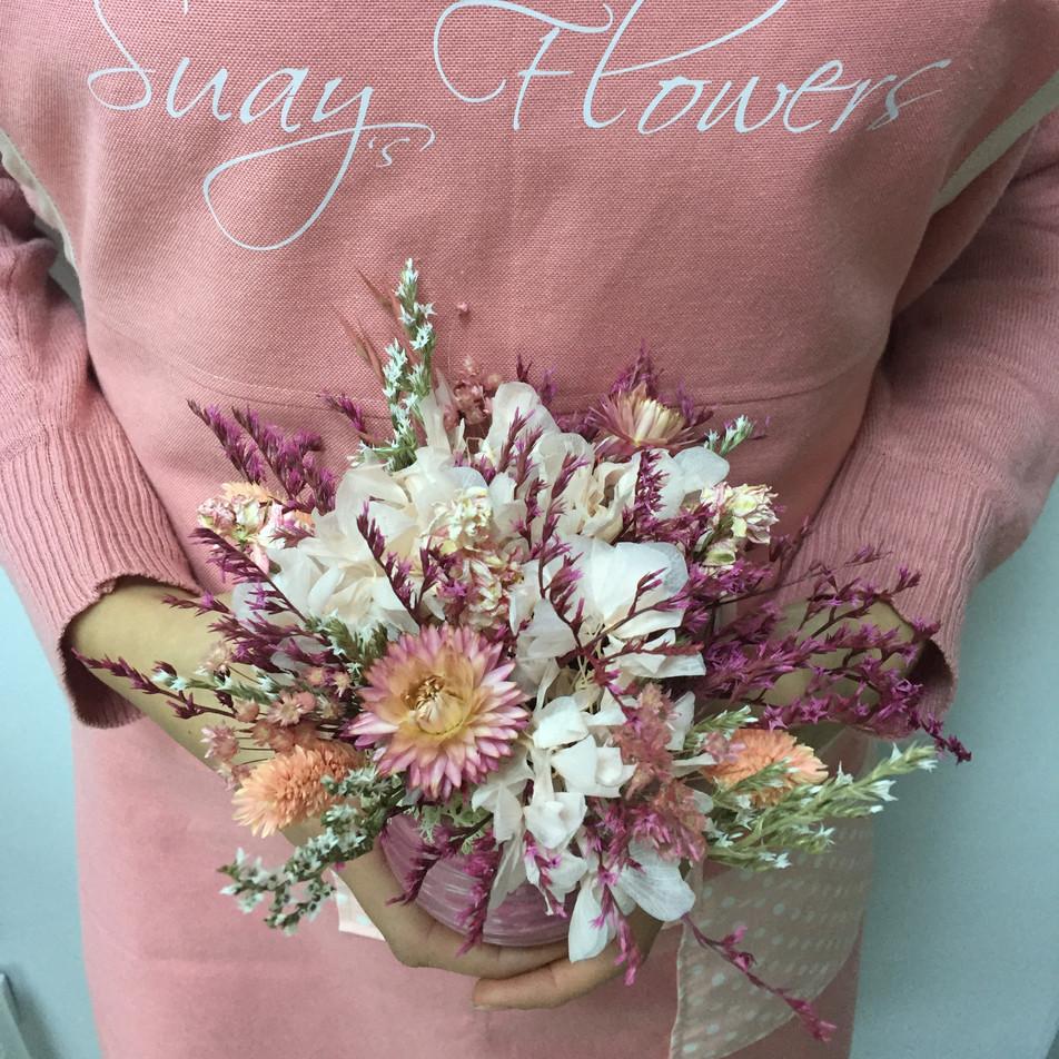 mini saksı çiçek