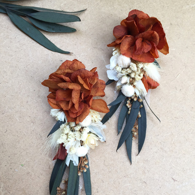 Çiçek küpe okaliptus