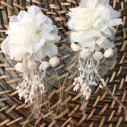 Çiçek küpe yapraklı