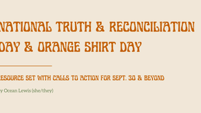 September 30th is Orange Shirt Day: National Day of Truth and Reconciliation
