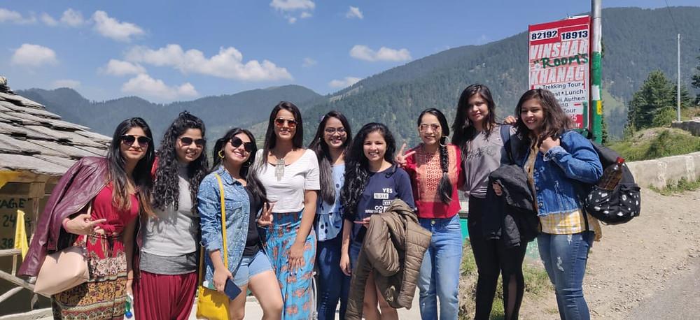 Jibhi & Serolsar Lake near Khanag Girls Trekking trip organised by Wander Womaniyaby