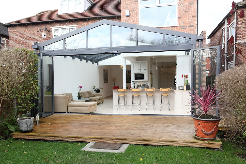 kitchen extension, open plan kitchen