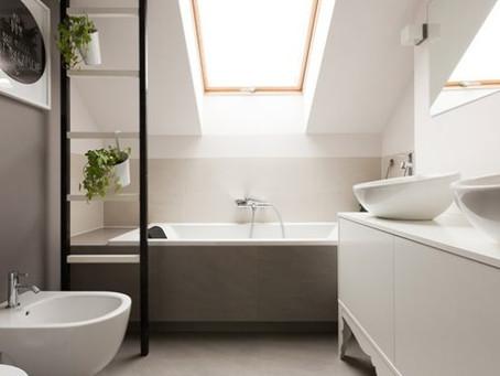 Planning a loft bathroom