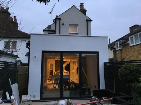 Extension in Kingston, Mill Street, Surrey