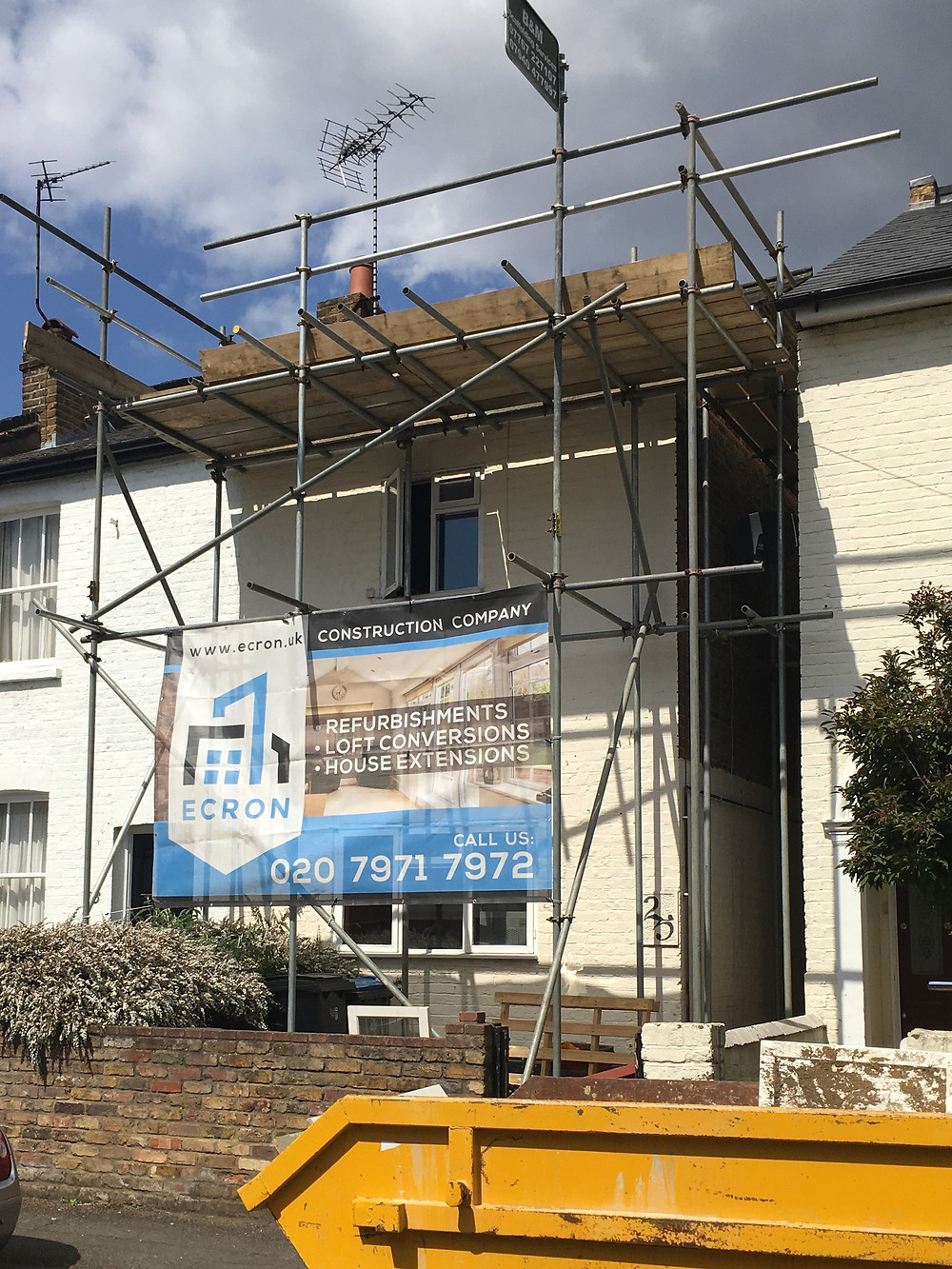 Acre Road, Kingston. House refurbishment and Loft Conversion