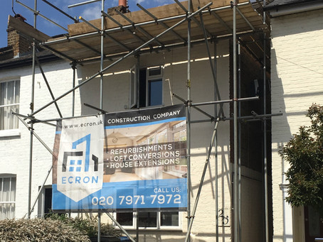 Extension and Loft in Kingston, Acre Road, Surrey