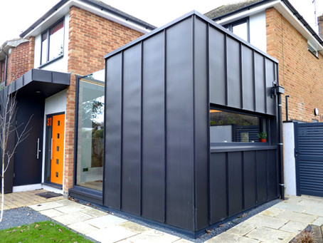 House extension in the UK