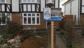 Extension in Kingston, Barnfield Avenue, Surrey