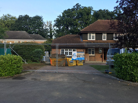 Extension in Cobham, Burleigh Park, Surrey