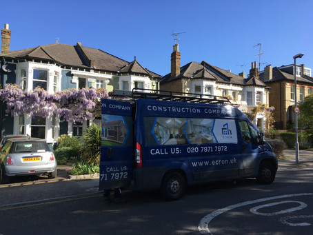 Extension in Kingston, Alexandra Road, Surrey