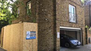 Refurbishment in Kensington, Pembroke Square, London