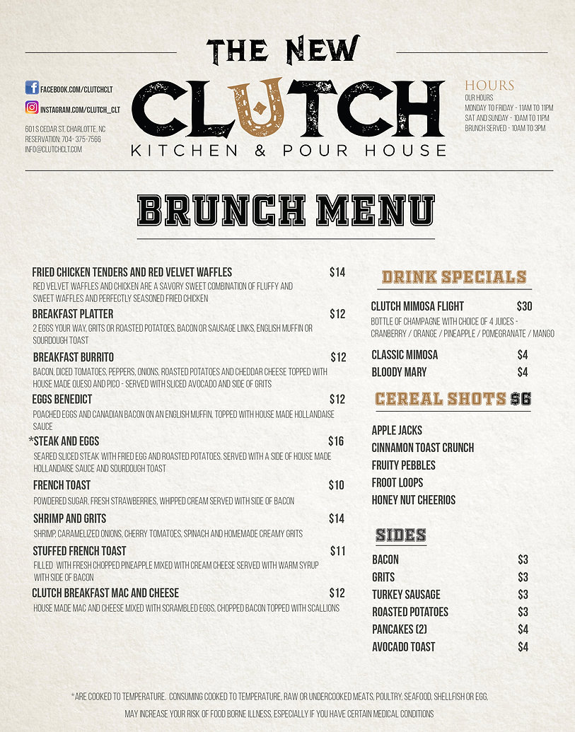 **8x11 December 14th 2020 Clutch Brunch