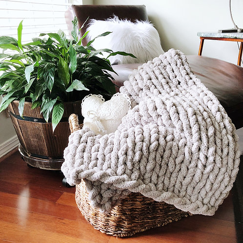Blanket - Grey - 45x60