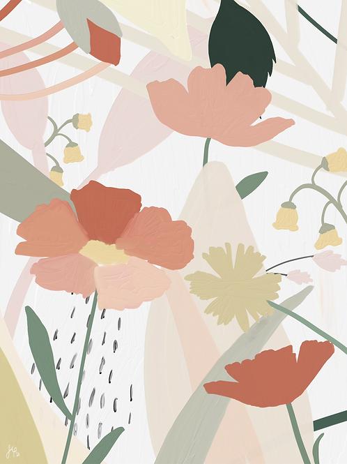 Flower Collage 2 - Printable Art