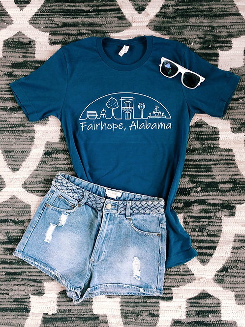 Fairhope T-Shirt - Bay Blue