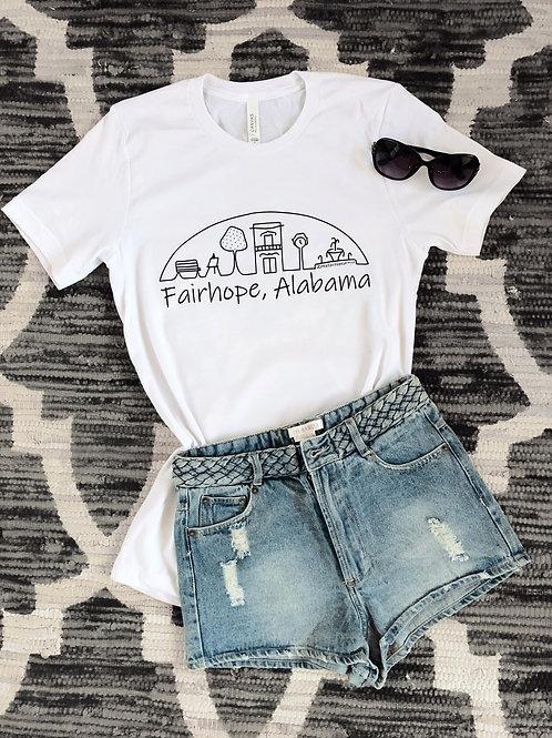 Fairhope T-Shirt - White