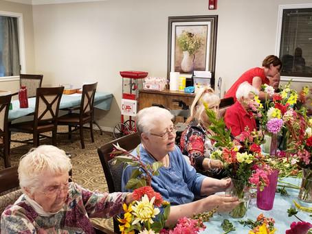 Flower Workshop Fun