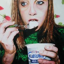 "Angela, Acrylic on canvas, 48"" x 60"", 2009"