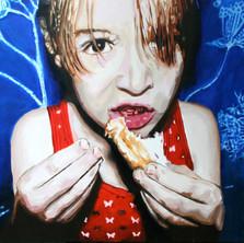 "Lilith No. 1, Acrylic on canvas, 48"" x 60"", 2009"