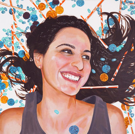 "Carolina, Acrylic on canvas, 36"" x 48"", 2012"
