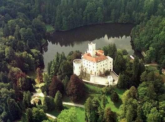 castle Trakošćan