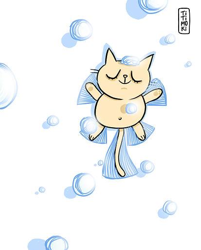 ilustracion personalizada, pesronalizada, ilustracion, gatos, regalo, retrato