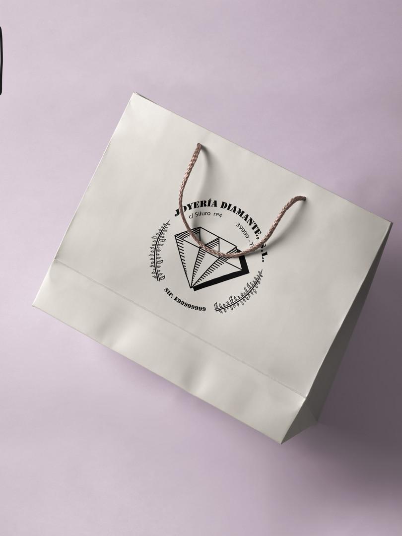 Bolsa con logotipo