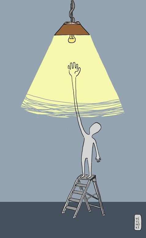 La subida de la luz