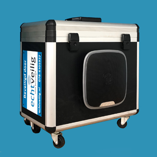Koffer met Centrale en Sirene met LED flitslicht