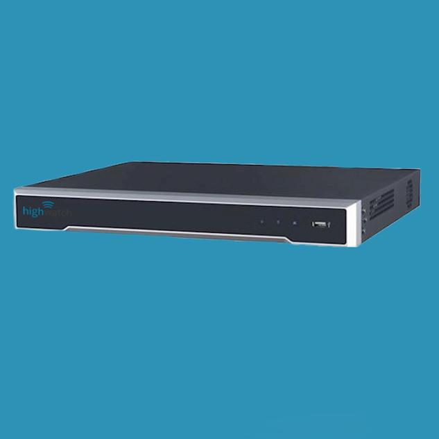 Highwatch 4 kanaals NVR IP-recorder