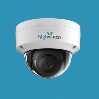 1 x Highwatch IP - IR dome camera, IP 67 (ook in zwart)